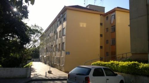 apartamento em cristal com 1 dormitório - lp754