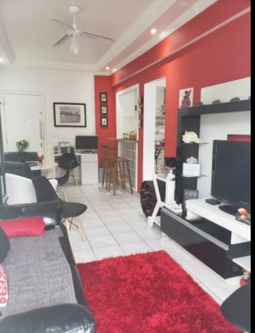 apartamento em enseada, guarujá/sp de 55m² 1 quartos à venda por r$ 220.000,00 - ap357060