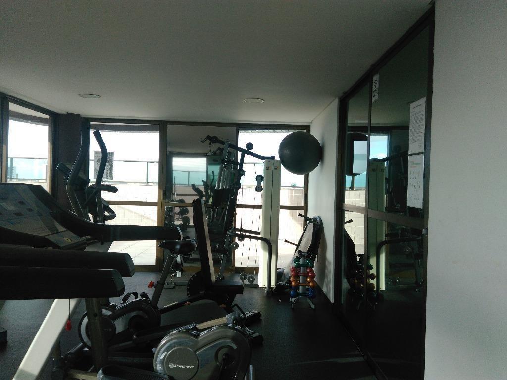 apartamento em espinheiro, recife/pe de 58m² 2 quartos à venda por r$ 340.000,00 - ap140805