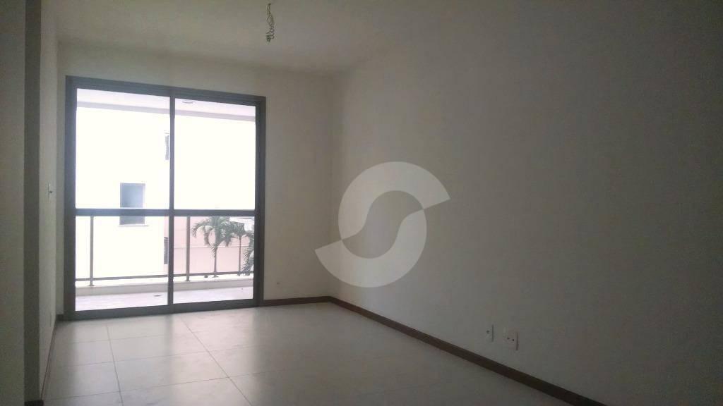 apartamento em icaraí, 1ª locação, excelente 2 quartos 82 m² miolo, prédio alto padrão - ap1070