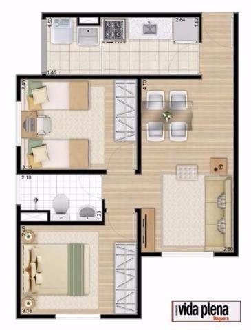 apartamento em itaquera - 2 dorm 1 vaga - vida plena itaqera