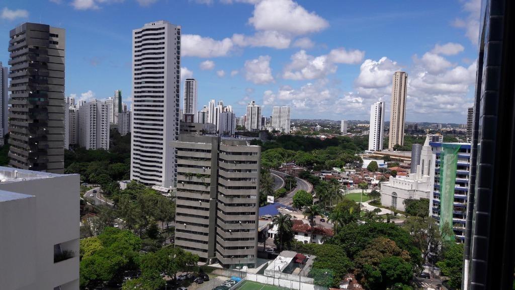 apartamento em jaqueira, recife/pe de 33m² 1 quartos para locação r$ 2.400,00/mes - ap374614
