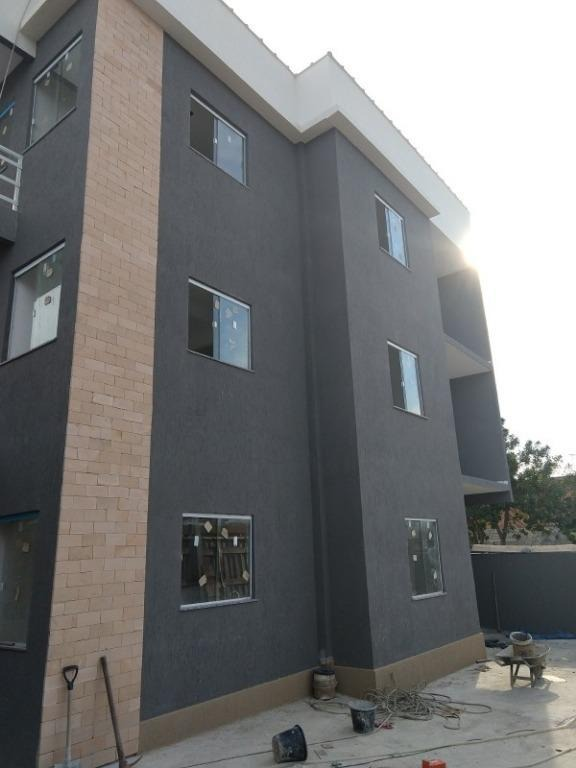 apartamento em jardim catarina, são gonçalo/rj de 60m² 1 quartos à venda por r$ 100.000,00 - ap412580