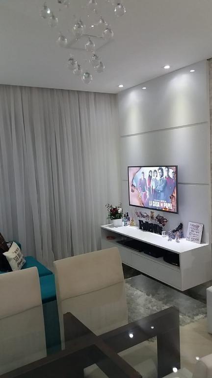 apartamento em jardim flor da montanha, guarulhos/sp de 58m² 2 quartos à venda por r$ 350.000,00 - ap351109