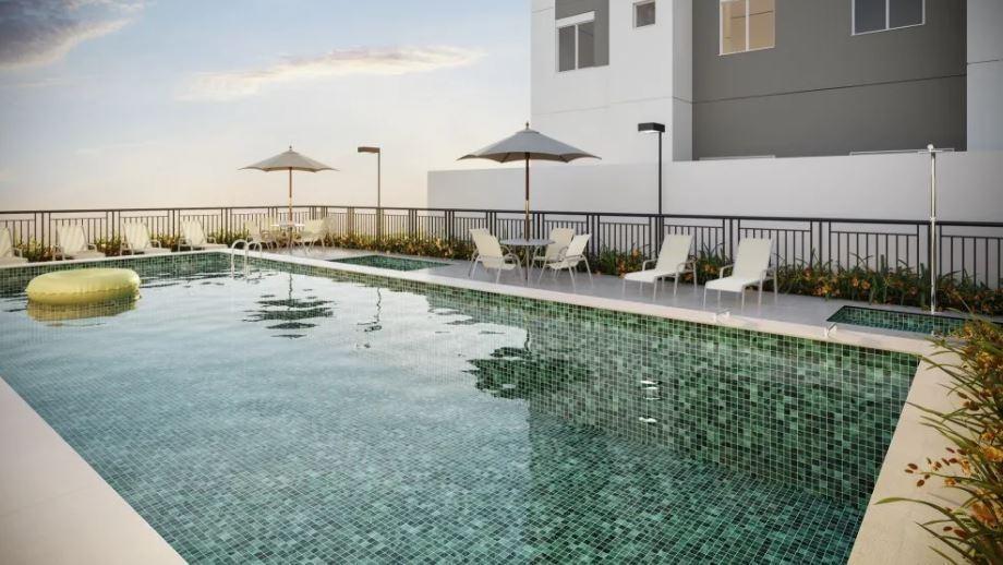 apartamento em jardim monte alegre, taboão da serra/sp de 41m² 2 quartos à venda por r$ 235.000,00 - ap454233