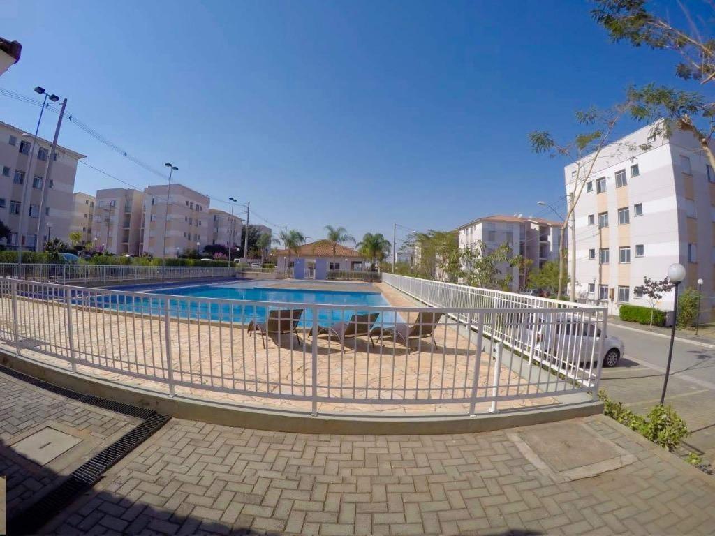 apartamento em jardim volobueff (nova veneza), sumaré/sp de 49m² 2 quartos à venda por r$ 220.000,00 - ap220570