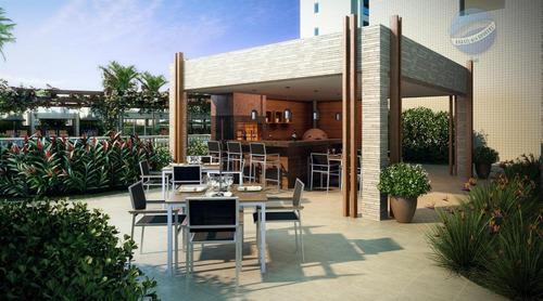 apartamento em lagoa nova, com 4 suítes - sports garden - ap0010