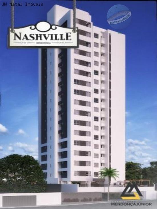 apartamento em lagoa nova, em fase de lançamento - nashville - ap0068