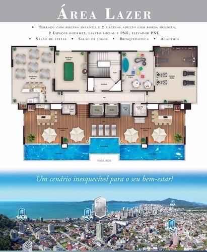 apartamento em lançamento 02 suítes