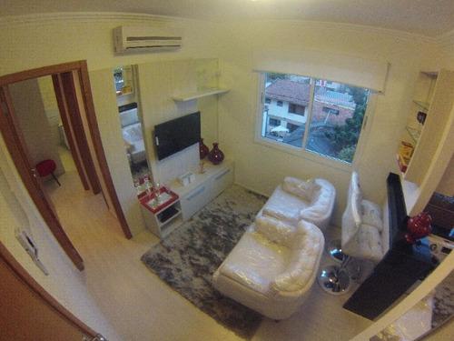 apartamento em menino deus com 1 dormitório - lu260277