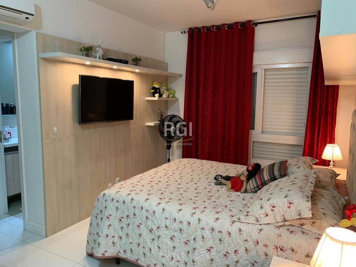 apartamento em menino deus com 3 dormitórios - ca4024