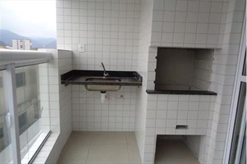 apartamento em mongaguá, frente para o mar  c5082