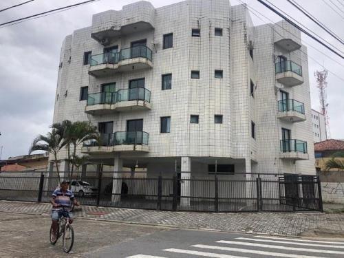apartamento em mongaguá lado praia 70m do mar  5592