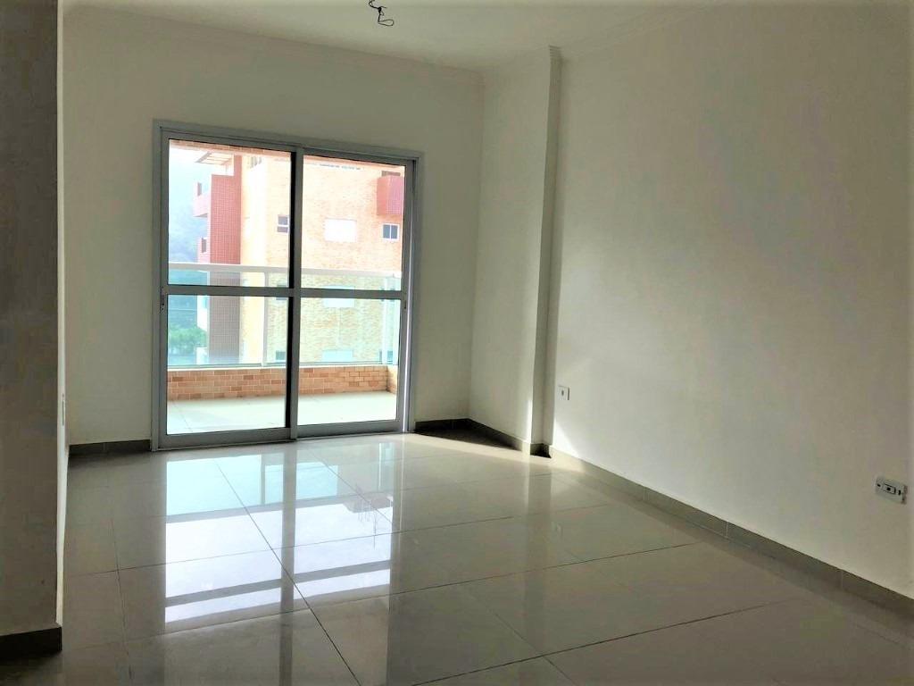 apartamento em mongaguá, prédio frente p/ o mar!! ref.ap0031