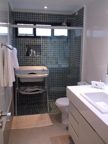 apartamento em morumbi, são paulo/sp de 130m² 3 quartos à venda por r$ 639.000,00 - ap190346