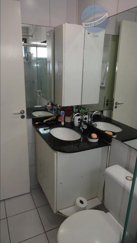 apartamento em nova parnamirim, com 3 quartos, em ótima localização. - ap0126