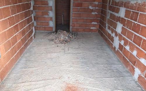 apartamento em obras 1 dormitório na vila caiçara aceita financiamento direto
