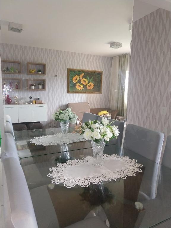 apartamento em pajuçara, natal/rn de 53m² 2 quartos à venda por r$ 115.000,00 - ap552018