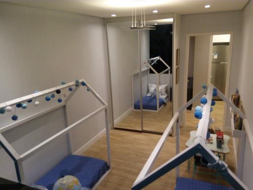 apartamento em piracicaba 2 dormitórios lazer completo