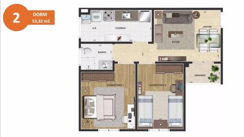 apartamento em piracicaba 2 dormitórios lazer completosacada