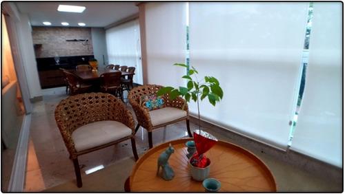 apartamento em plano diretor sul, palmas/to de 214m² 3 quartos à venda por r$ 1.500.000,00 - ap95595