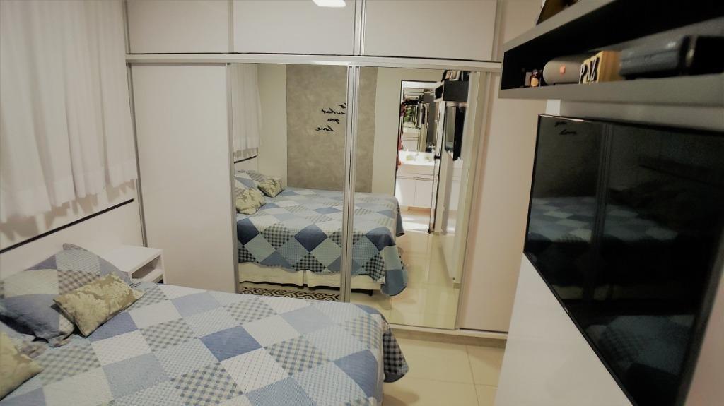 apartamento em plano diretor sul, palmas/to de 78m² 3 quartos à venda por r$ 350.000,00 - ap328032