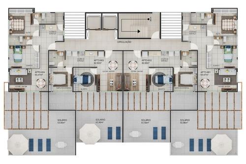apartamento em poço, cabedelo/pb de 37m² 1 quartos à venda por r$ 218.939,00 - ap211106