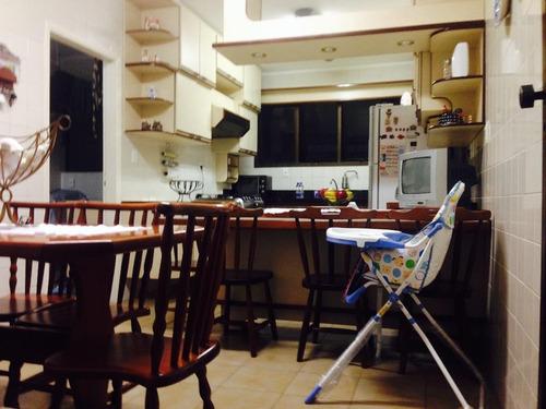 apartamento em pompéia, santos/sp de 185m² 4 quartos à venda por r$ 690.000,00 - ap151759