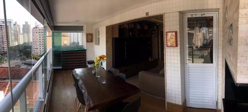 apartamento em pompéia, santos/sp de 70m² 1 quartos à venda por r$ 680.000,00 - ap240206