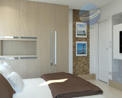 apartamento em ponta negra, com 2 quartos - spazzio privillege - ap0016