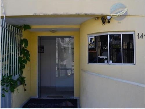 apartamento em ponta negra, flat com 2 quartos, vistas para o mar e morro de careca - ap0069