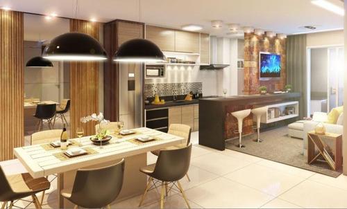 apartamento em praia alegre, penha/sc de 93m² 3 quartos à venda por r$ 425.000,00 - ap99934