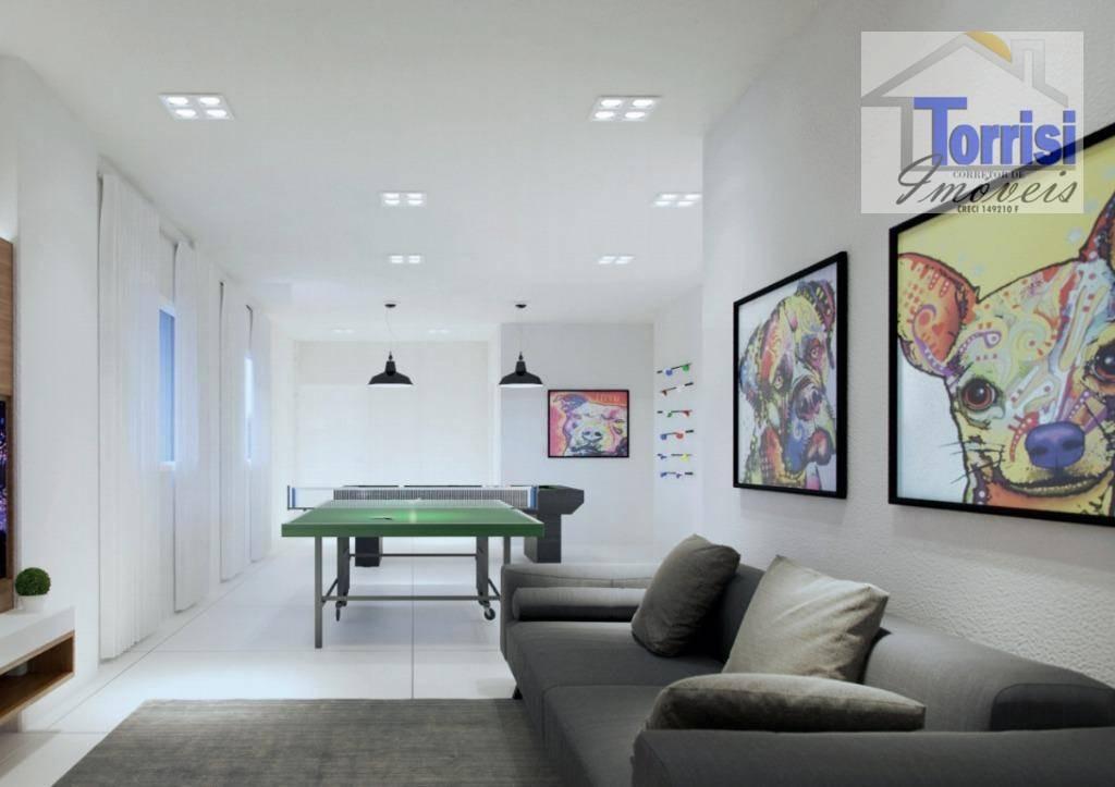 apartamento em praia grande, 01 dormitório, guilhermina, ap2205 - ap2205