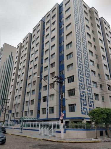 apartamento em praia grande, 01 dormitório, primeira quadra da praia,  guilhermina - ref. ap2100 - ap2100