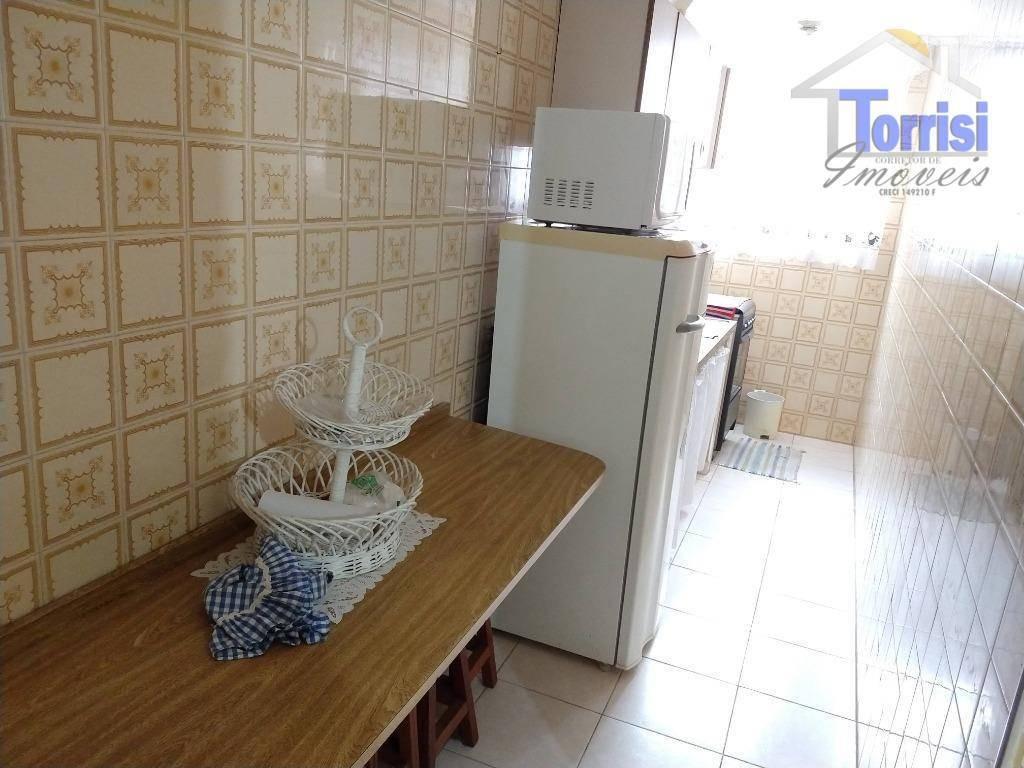apartamento em praia grande, 01 dormitório, vista para o mar, no bairro guilhermina, ap2097 - ap2097