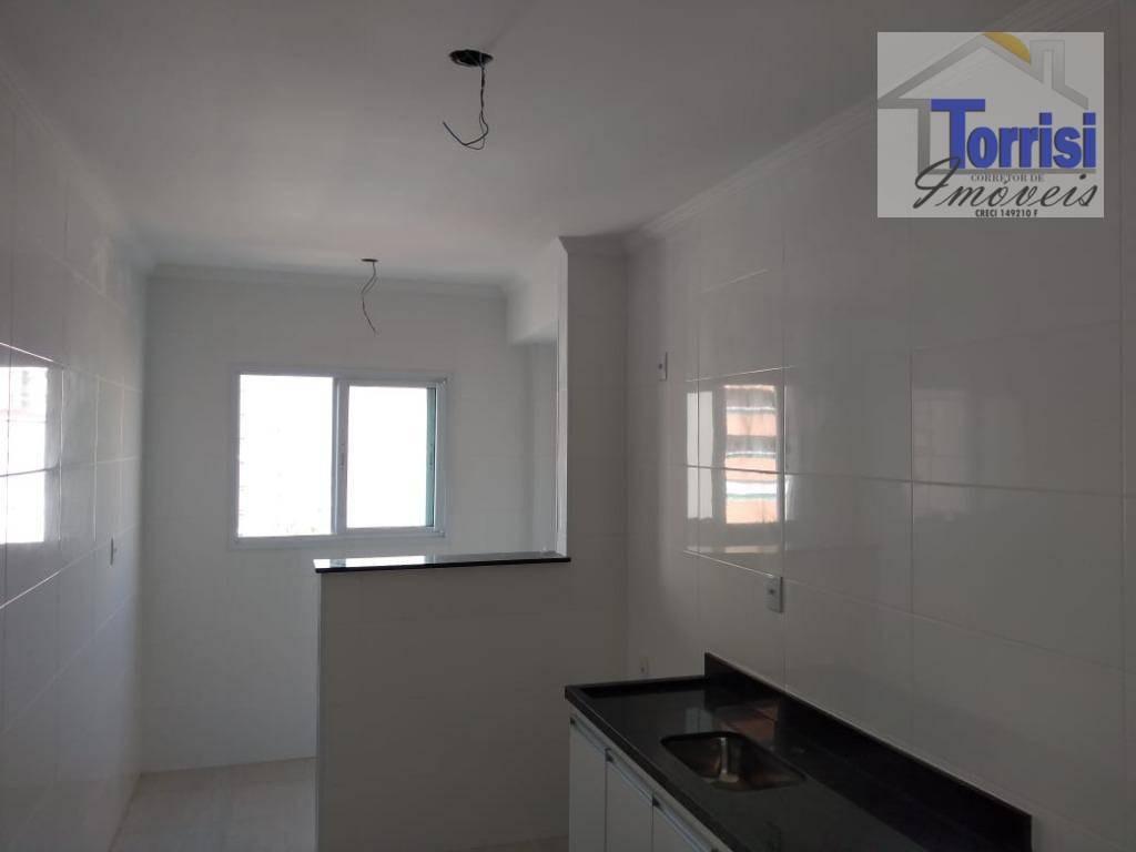 apartamento em praia grande, 02 dormitórios sendo 01 suite, lazer completo na aviação ap0690 - ap0690