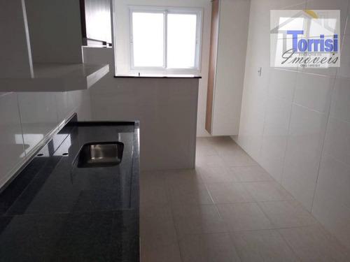 apartamento em praia grande, 02 dormitórios sendo 01 suite, lazer completo na aviação ap0693 - ap0693