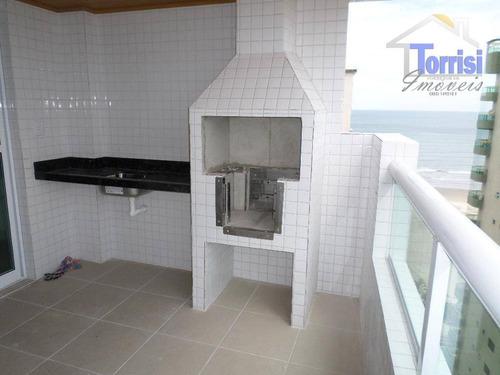 apartamento em praia grande. 03 dormitórios sendo 01 suite, na aviação ap0385 - ap0385