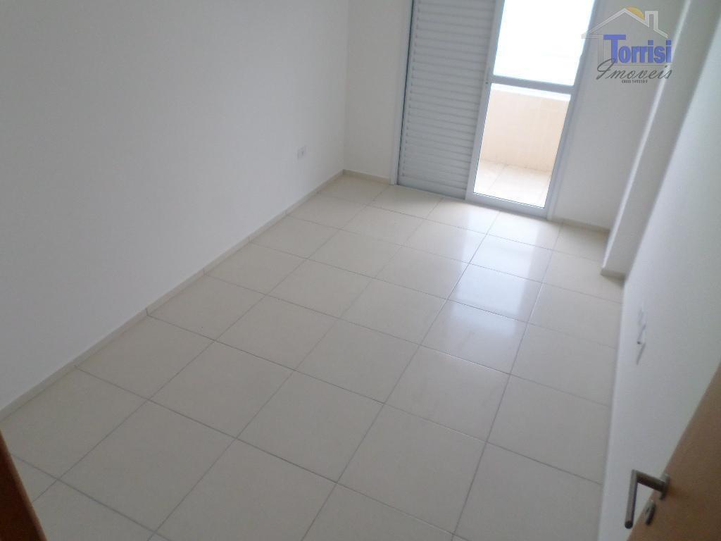 apartamento em praia grande,  2 dormitórios sendo 1 suite  vista para o mar sala estar e jantar, sacada em todos os dormitórios, 1 vaga de gara - ap0938
