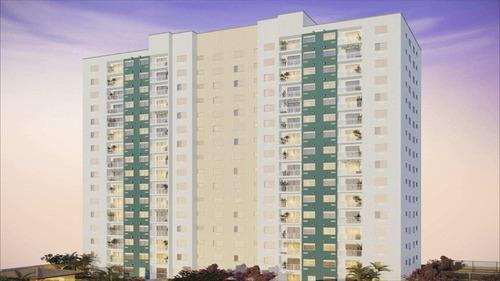 apartamento em praia grande bairro ocian - v409