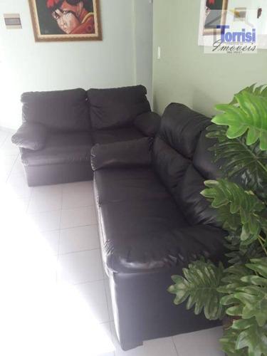 apartamento em praia grande, com 01 dormitório amplo, no bairro guilhermina, ap2128 - ap2128