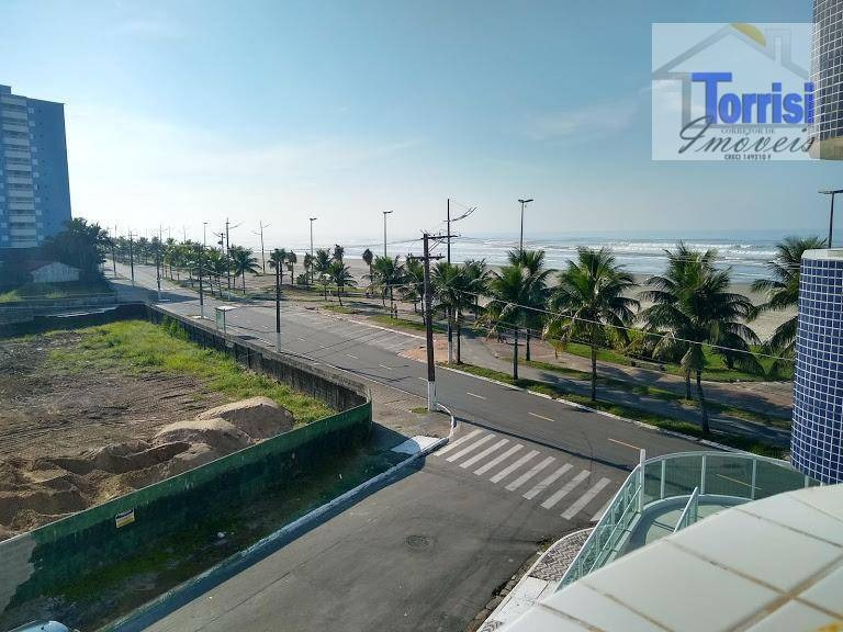 apartamento em praia grande, frente praia, vista definitiva para o mar, 3 dormitórios - ref. ap2066 - ap2066
