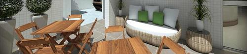 apartamento em  praia grande guilhermina   - n5813