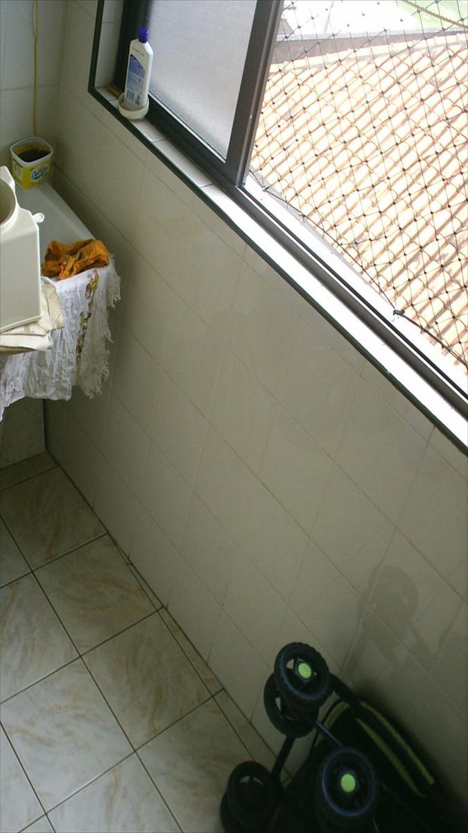 apartamento em praia grande, no bairro boqueirao - 1 dormitórios