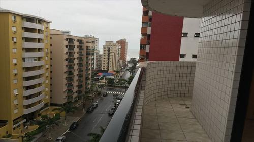 apartamento em praia grande, no bairro canto do forte - 2 dormitórios