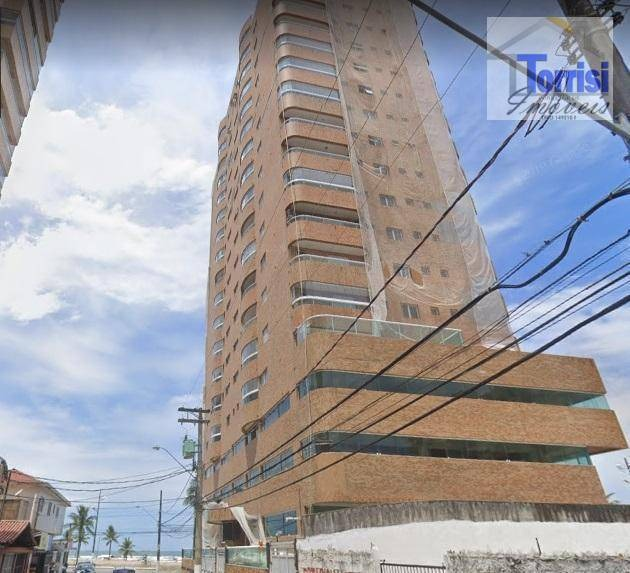 apartamento em praia grande, vista para o mar, frente praia, 02 dormitório sendo 01 suite, ocian, ap2477 - ap2477
