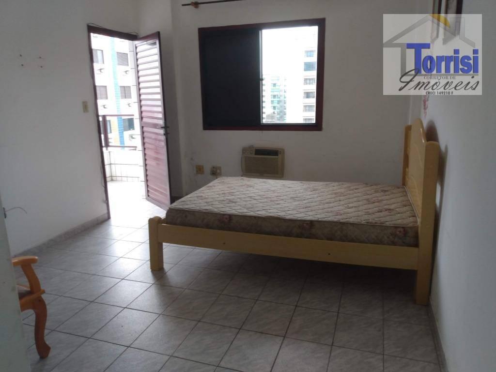 apartamento,  em praia grande, vista parcial do mar, 3 dormitórios sendo 01 suítes, tupi, ap2369 - ap2369