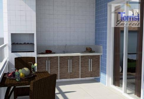 apartamento em praia grande,r$ 20.930,00 de entrada. 01 dormitório, sacada gourmet, lazer completo no caiçara ap1649 - ap1649