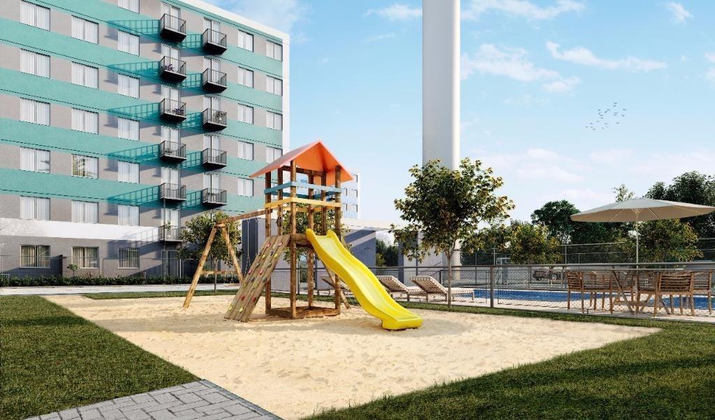 apartamento em praia joão rosa, biguaçu/sc de 49m² 2 quartos à venda por r$ 148.000,00 - ap185594