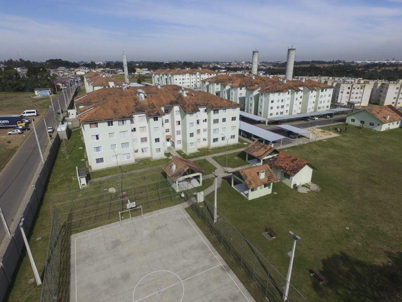 apartamento em rio pequeno, são josé dos pinhais/pr de 76m² 3 quartos para locação r$ 830,00/mes - ap569480